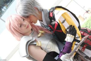 FFXIII-2 Hope X Light by Soroxas023