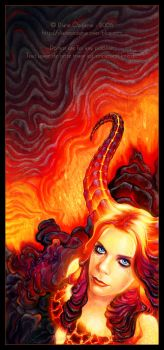 Magma Spirit - Fire by Dianae