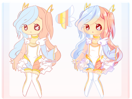 Adoptable$25: Cotton Candy Angel [OPEN] by piketta