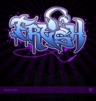 FRESH logo Graffiti by kitster29