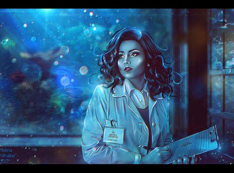 Love for Science (Commission) + Video by Nikulina-Helena