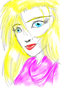 very quick sketch of Patricia by EmmaComics
