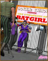Batgirl in Trouble by mrxdbc