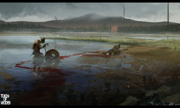 Token of Woden concept 1 by bradwright