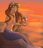 By the sea by LilayM