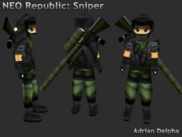 Neo Republic: Sniper by DelphaDesign
