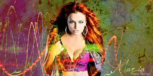 Maria Kanellis Sig by TheRealQueenOfChaos