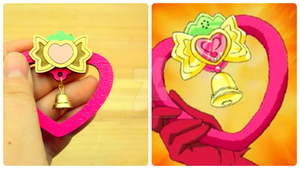 Tokyo Mew Mew Stawberry Bell fanmade brooch by tenczerszofi