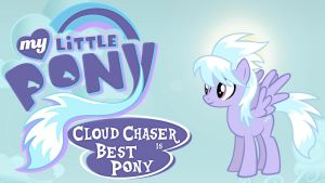 Wallpaper Cloud Chaser best pony by Barrfind