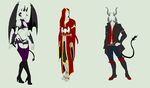 Outfit Adopts Auction - Angels and Demons - CLOSED by ShadowInkAdopts