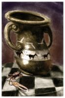 Crab And Vase by johnshine