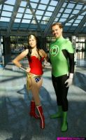 Wonder woman  Green Lantern 2 by My2Wings