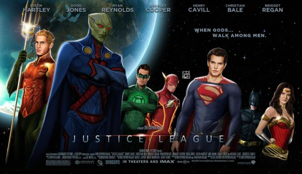 Justice League Movie Poster by daniel-morpheus