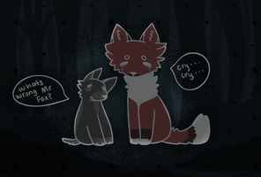 What is Wrong Mr. Fox? by Fluffuu