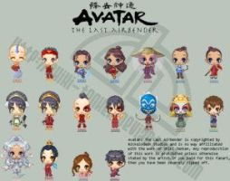 Avatar The Last Airbender Set by avatar-fan