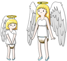 Angel Princess Concepts by DiaperArtist