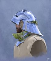 Helmet_Study by Trevor-Stephen-Smith
