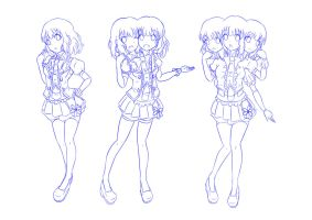 Evolution Of Uramoto Yumeka's Body by jim830928