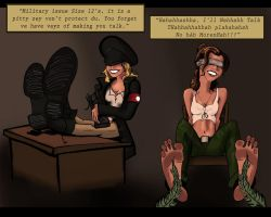 Military Interrogation by Bigfootfantasies