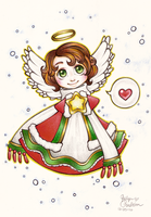 Christmas Angel by DinchtGirlie