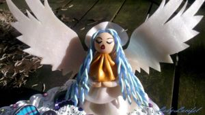 Closeup #1 Angel by Lady-Lucifel