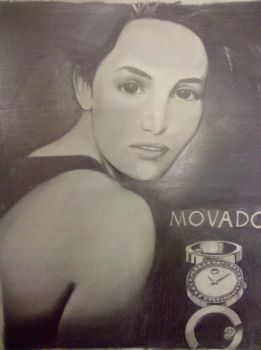 Movado ad by FernandoTous