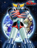 Grendizer - Goldrake by Zer013