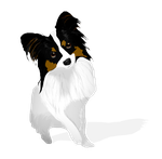 Dog Panch Vector Black And White