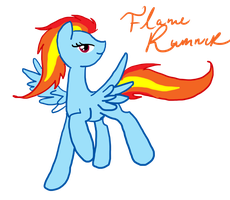 flame runner by sweetchiomlp