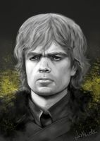 Tyrion Lannister study by Lasthielli