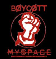 boycott myspace by angryjesus