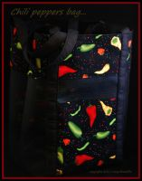 Chili Peppers bag... by LadyAliceofOz