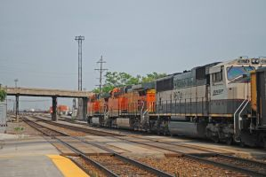 BNSF 9674 at LaVergne by eyepilot13
