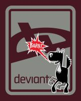 deviant BARK T-Shirt - Brick by deviantARTGear