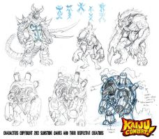 CKC Art Book preview 1 by KaijuSamurai