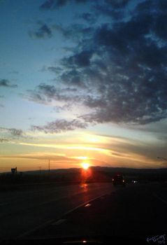 Drive Me Into The Sunset - Alt by greyorm