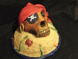 Pirate Cake by jwitchy65