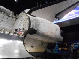 The Back of the Space Shuttle by OceanRailroader