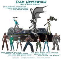 Road Rally - Team Underwood by lethe-gray