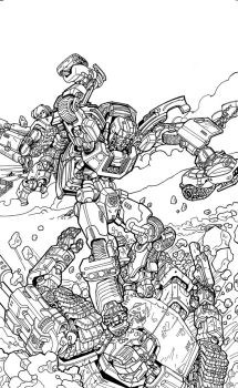 IDW Cover Contest: Tailgate by nato2469