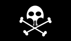 Pirate Flag by archizero
