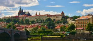 panorama of Prague by scarlette13