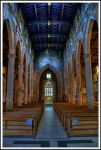 The Nave, Sheffield Cathedral. by TheBaldingOne