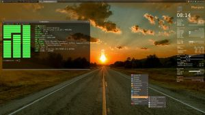New Year Eve Openbox on Manjaro by rvc-2011