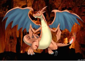 Charizard Clone Mega Evolution by SercansArtbook