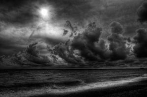 Cloudy Sea by Bazz-photography