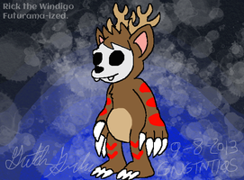 Rick the Windigo Futurama-ized by GNGTNT105