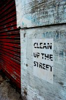 Clean Up the Street by intake-eyes