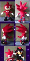 Knuckster The Echidna Plushie by Kat-Aclysm