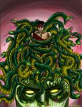 'VULCAN and THE HEAD OF MEDUSA by lijohn321